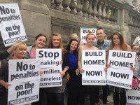 Cathleen Protest at Dublin City Council